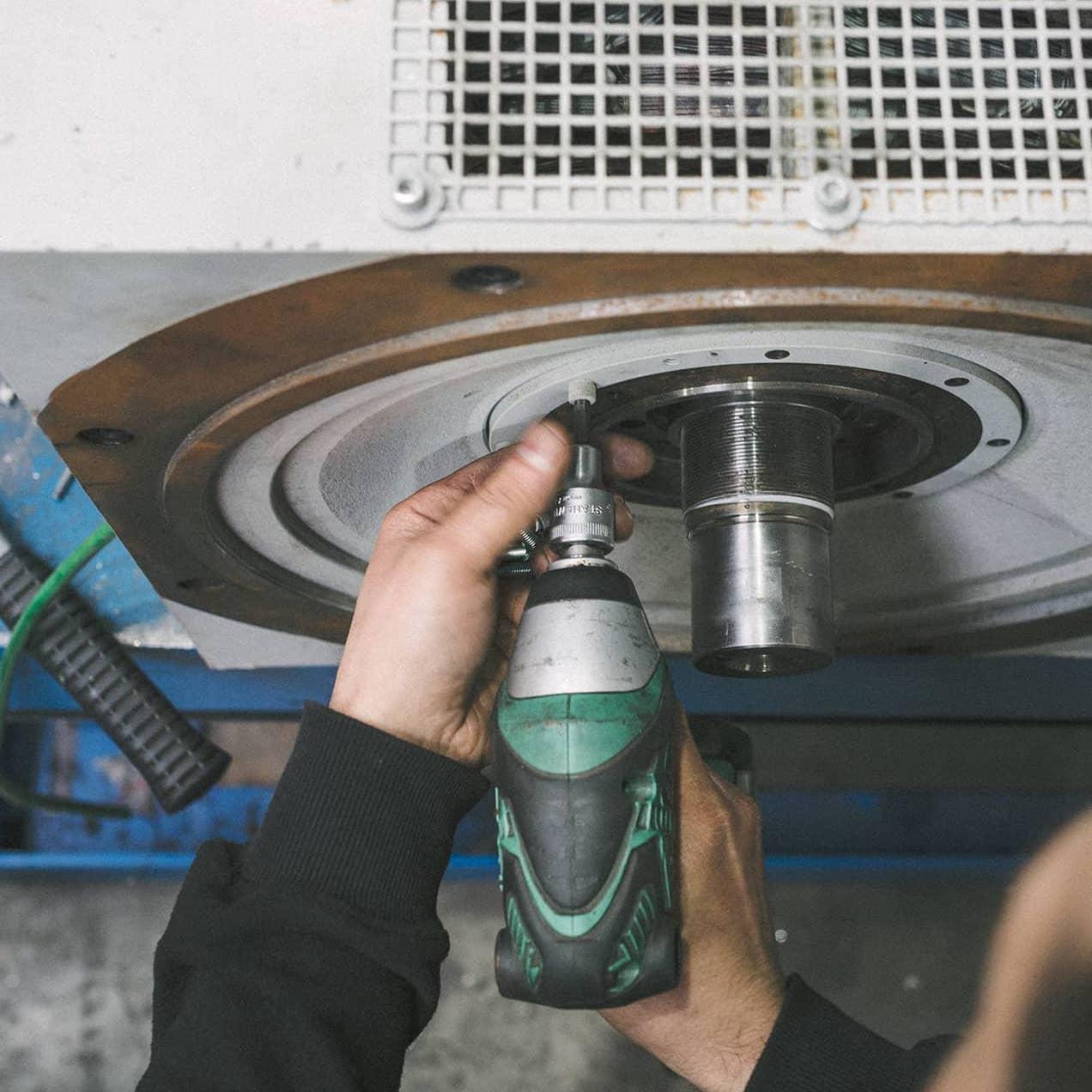 Maschinen Mechanische Bearbeitung im Betrieb