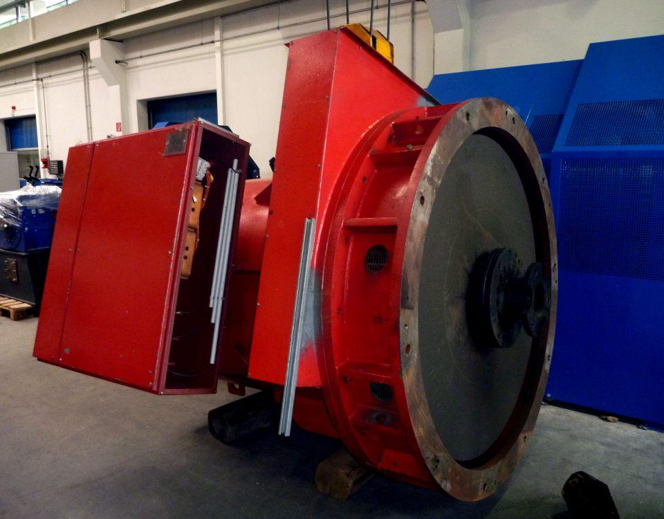Generator-Wicklung defekt