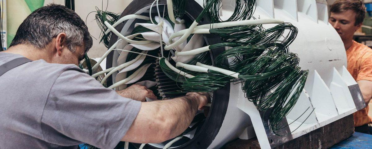 spalt elektromechanik maschinenbau wicklung